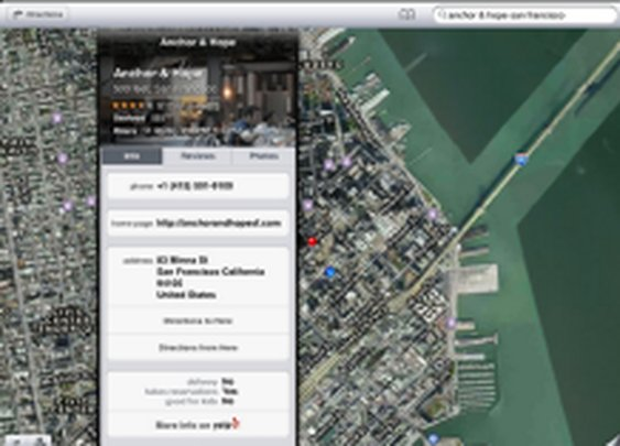 Local search Field Test: Apple Maps vs. Google Maps | iPhone Atlas - CNET Reviews
