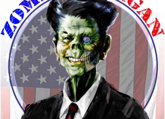 Zombie Reagan from sweasel.com