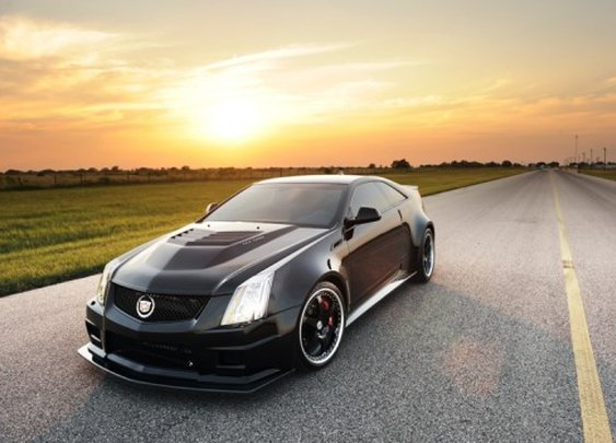 Hennessey's 1,226 horsepower Cadillac CTS-VR