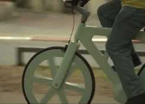 Cardboard bike by Izhar Gafni - YouTube