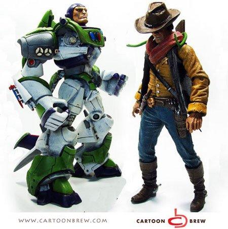 Realistic Buzz Lightyear/Woody Figures