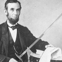 Abraham Lincoln once nearly dueled a rival with a broadsword