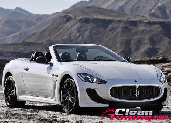 Maserati Reveals New GranCabrio MC   CleanTuning.com