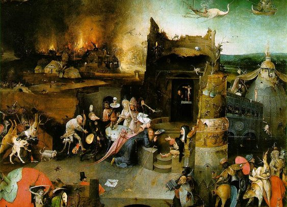 Temptation of Saint Anthony (1500), Hieronymus Bosch