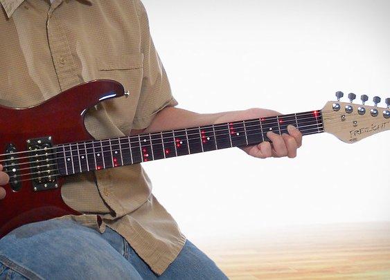 Fretlight Guitar | Uncrate