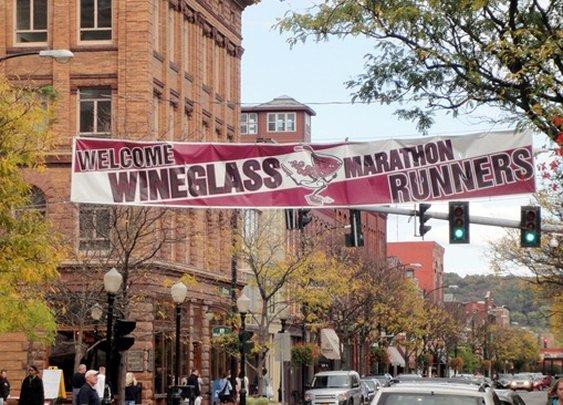 My First Marathon: The Wine Glass