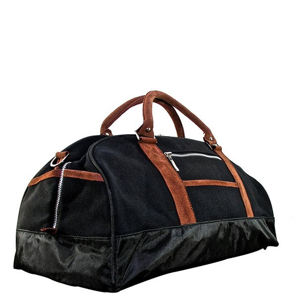 This elegant, medium sized Canvas Duffel is perfect for your overnight stays or daytime excursions.