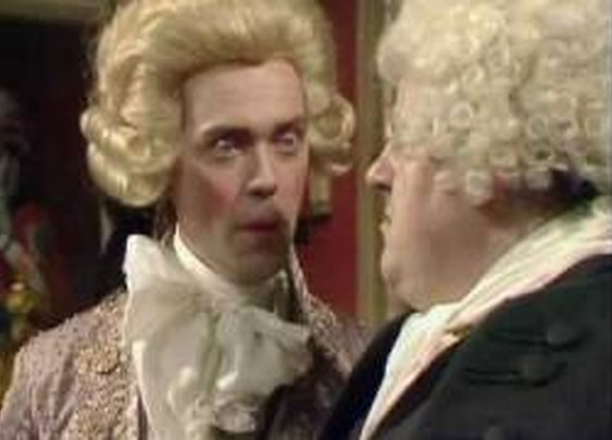 "Cheers for British Humor! ""C"" is for contrafibularity - Blackadder - BBC"