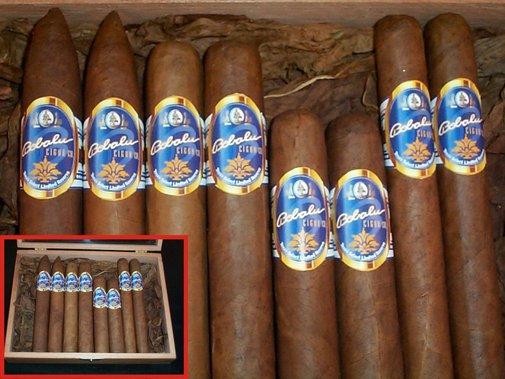 Fresh rolled - vintage cigar - connecticut shade - dominican cigar
