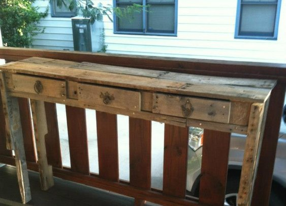 Sofa Table - www.facebook.com/helprenew
