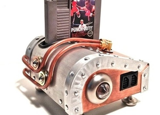 World's best uncle builds steampunk NES   The Verge