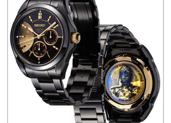 Limited Edition Luxury Seiko Star Wars Watches | Geekologie
