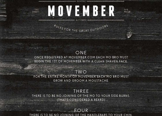 Movember United States - News - The Rules of Movember