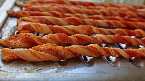 Curl Your Bacon Before Baking for Crispy Bacon Tubes