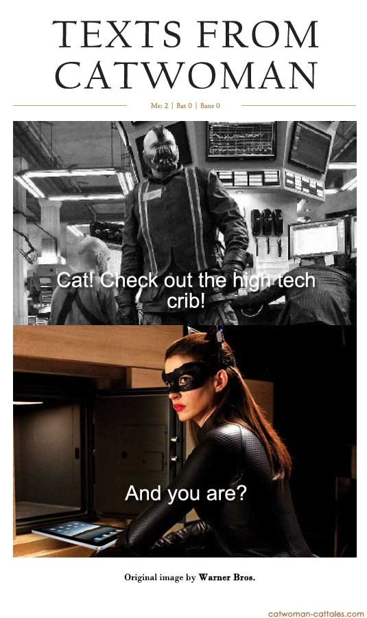 Texts From Catwoman