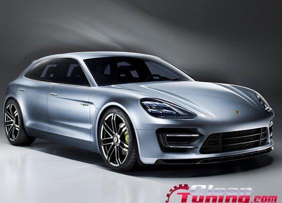 Porsche Presents The New Panamera Sport Turismo Concept   CleanTuning.com