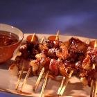 Bacon-Wrapped Prawns with Chipotle BBQ Sauce