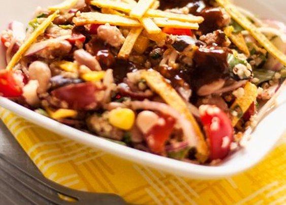 I'm Baacck …. & BBQ Ranch Quinoa Salad