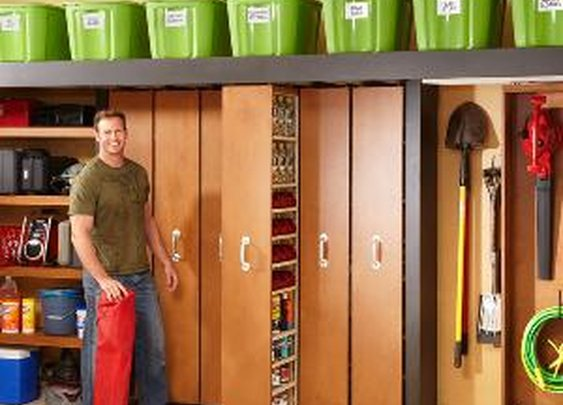 Garage Storage: Space-Saving Sliding Shelves - Summary | The Family Handyman