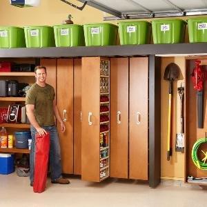 Garage Storage: Space-Saving Sliding Shelves - Summary | The Family Handyman