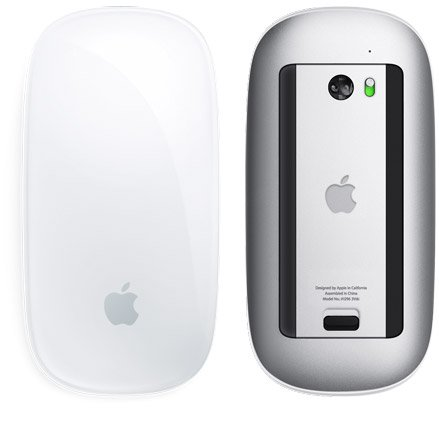 Apple - Magic Mouse - The world's first Multi-Touch mouse.