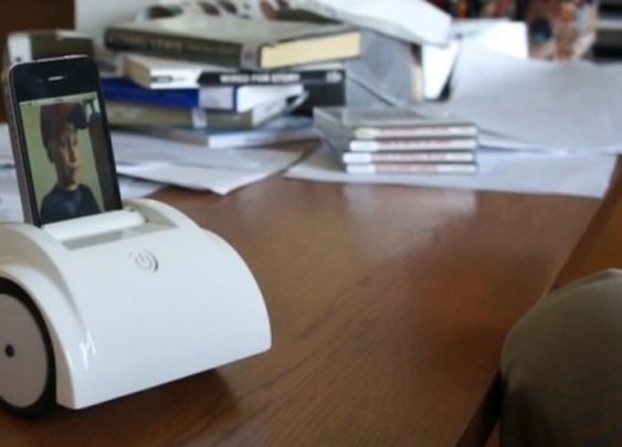Helios transforms your iPhone into a telepresence robot