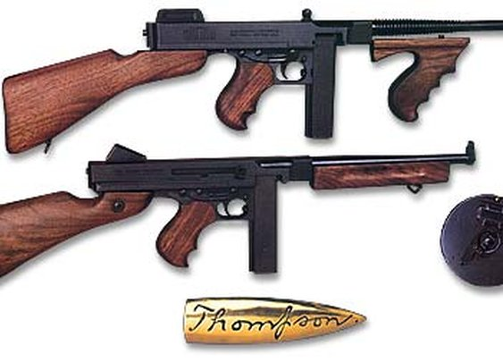 Thompson M1921 Sub Machine Gun