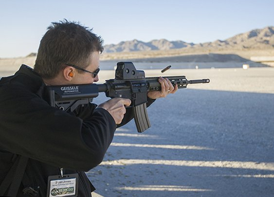 The Firearm Blog » Geissele Hand Guard For HK556/416 And Other AR Rifles