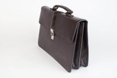 Executive Hard Leather Briefcase