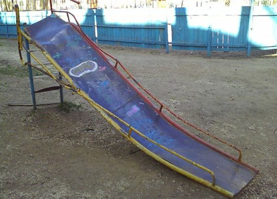Playgrounds from Hell - Mental Floss