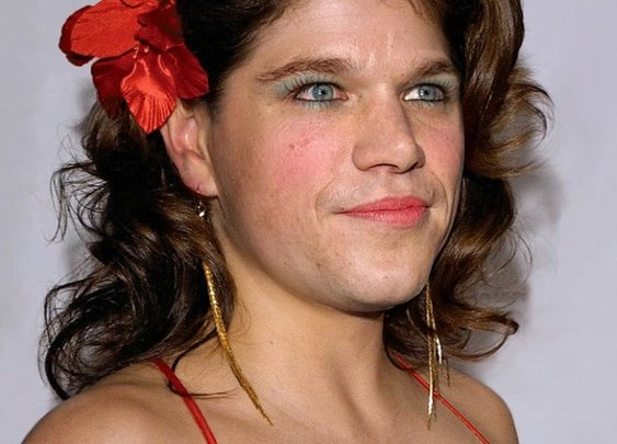 Major male celebrities as hilarious, ridiculous-looking women [15 pictures] - 22 Words