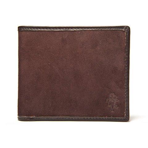 Italian Classic Billfold Wallet - Brown