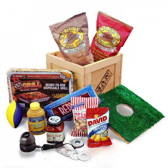 Tailgate Party Supply Crate