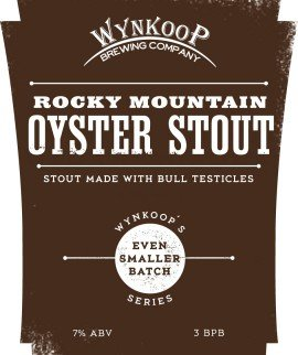 Wynkoop Brewing releases Rocky Mountain Oyster Stout - for real