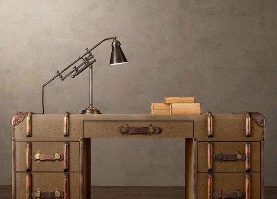 Old Trunk Desk Furniture – Furniture Home Idea