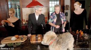 Cooking Chicken with Christopher Walken & Richard Belzer