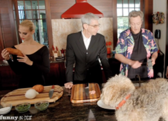 Cooking Chicken with Christopher Walken & Richard Belzer