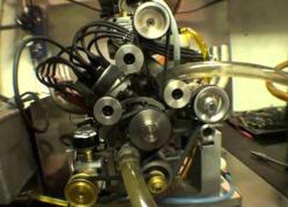 Stinger 609 Production Engine - YouTube