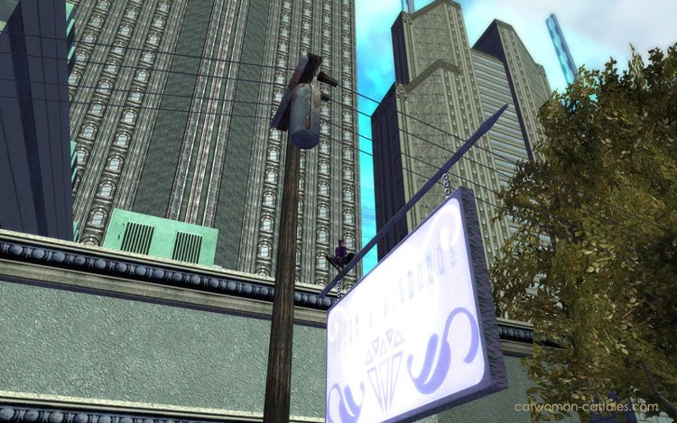 City of Heroes: Catwoman - Perch (Long Shot)