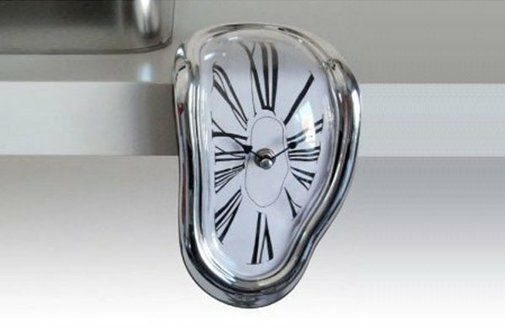 Salvador Dali Style Clock
