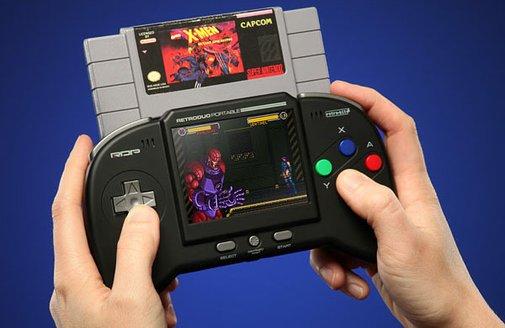 Portable NES/SNES Player