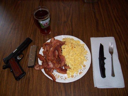 A Man's Breakfast