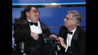 Fred Rogers inducted into the TV Hall of Fame - YouTube