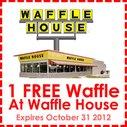 FREE Waffle Coupon From Waffle House