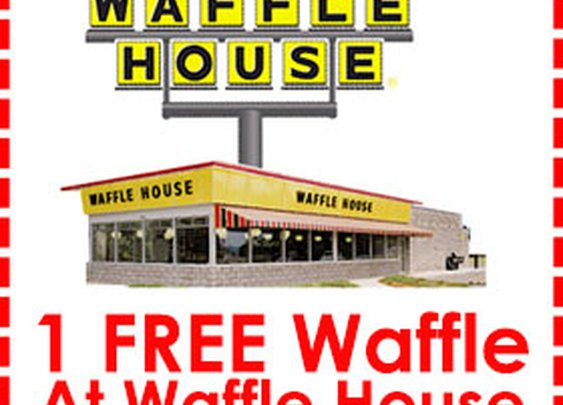FREE Waffle Coupon From Waffle House