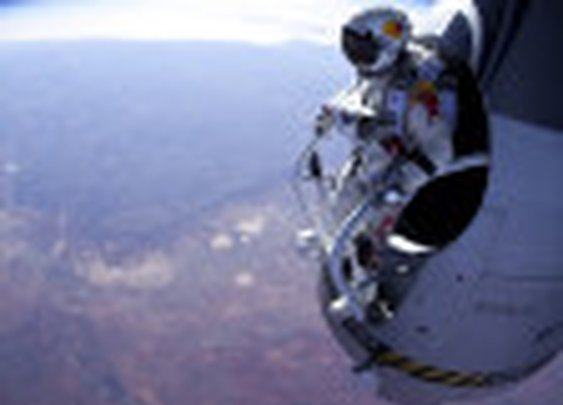 Felix Baumgartner Prepares To Make Record-Breaking Jump From 120,000 Feet