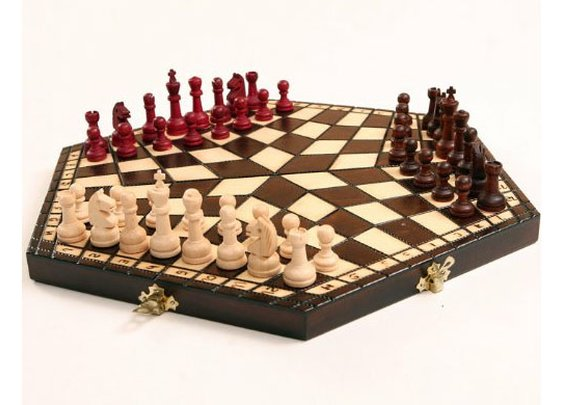 3 Player Chess Set