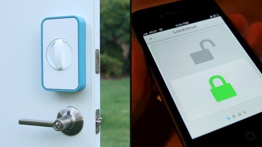 Lockitron turns your smartphone into a house key