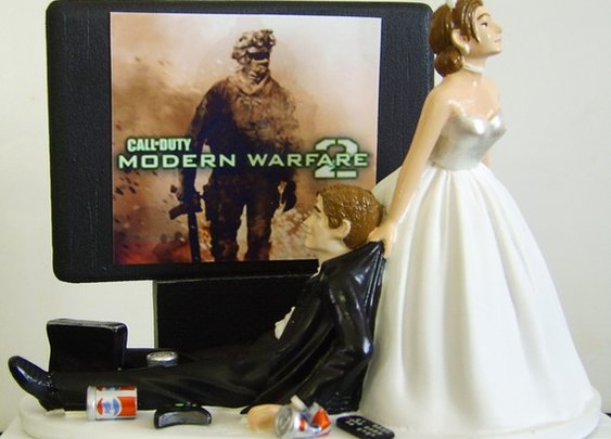 Best wedding cake topper
