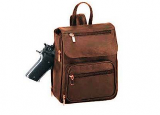 Concealed Pistol Packing Backpack
